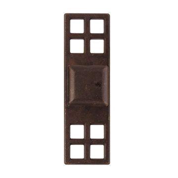 Marella Oriental Square Cabinet Knob with Backplate
