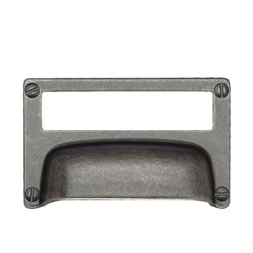 Classic Hardware Primitive Cup Bin Pull Card Holder