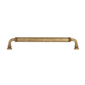Classic Hardware Smooth Brass Appliance Handle Pull