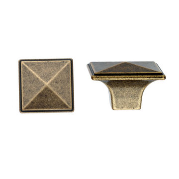Marella Antique Pyramid Cabinet Knob