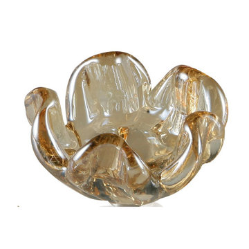 Marella Glass Shell Cabinet Knob