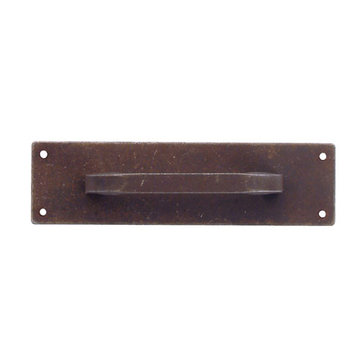 Marella Long Rectangular Cabinet Pull With Backplate