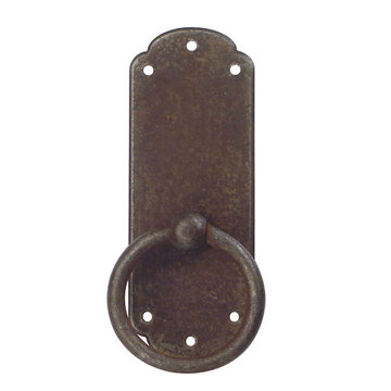 Marella Primitive Antique Ring Pull & Backplate