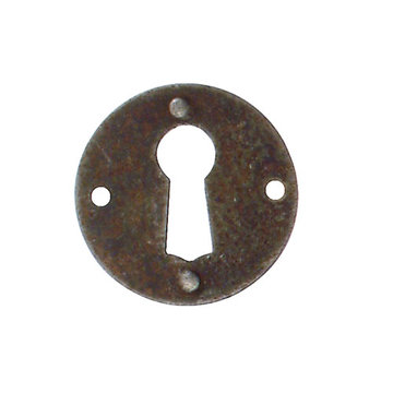 Marella Simple Round Escutcheon with Key Hole