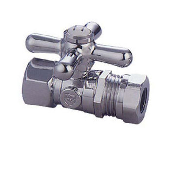 Restorers 1/2 Inch IPS Classic Decorative 1/4 Turn Valves - Cross