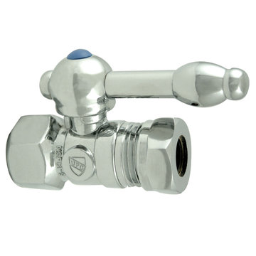 1/2 Inch Ips Decorative Ball Quarter Turn Valves - Lever Handle