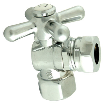 1/2 Inch Ips Decorative Quarter Turn Valves - Cross Handle