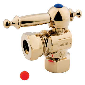 1/2 Inch Ips Decorative Quarter Turn Valves - Lever Handle