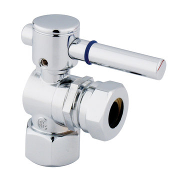 1/2 Inch Ips Straight Decorative Quarter Turn Valves - Lever Handle