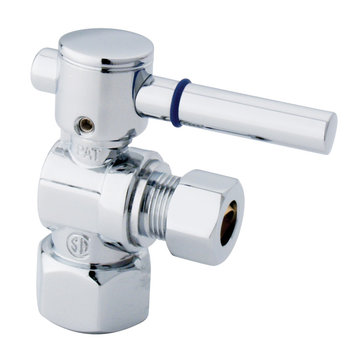 1/2 Inch Modern Decorative Quarter Turn Valves - Lever Handle