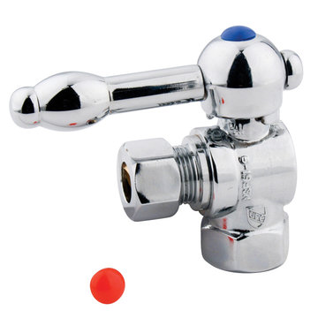3/8 Inch Decorative Ball Quarter Turn Valve - Lever Handle