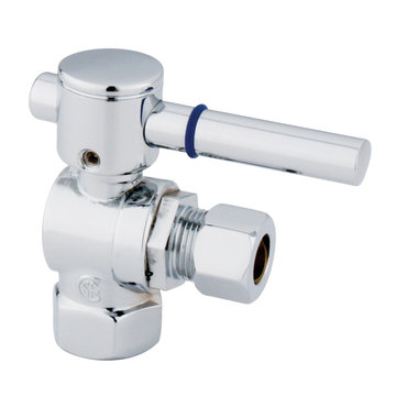 3/8 Inch Modern Decorative Quarter Turn Valves - Lever Handle