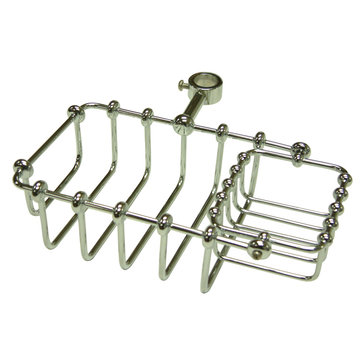 7 Inch Riser Mount Soap Basket