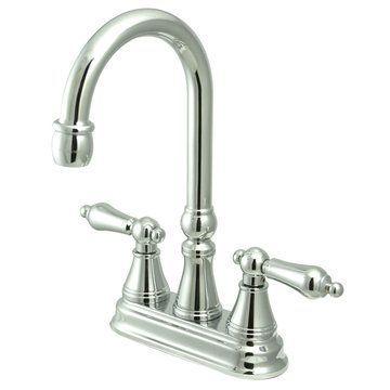 Restorers Bar Faucet - Metal Lever