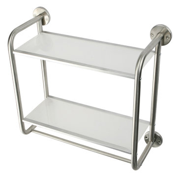 Bostonian Stainless Steel Wall Console