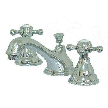 Widespread Lavatory Faucet With 8 - 16 Inch Spread - Buckingham Cross