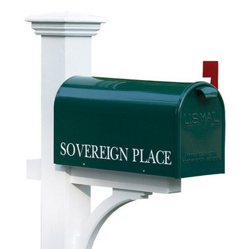 Lazy Hill Farm Bristol Hand-Fabricated Mailbox