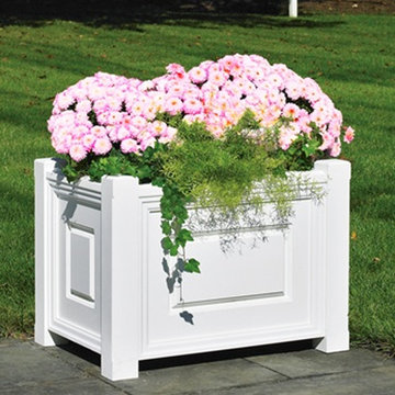 Lazy Hill Farm Linden Rectangular Vinyl Planter