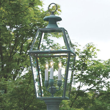 Lazy Hill Farm Old Colony Post Mount Lantern