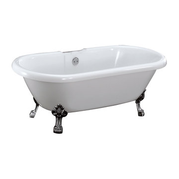 Barclay Belvidere Petite Double End Acrylic Tub - No Overflow