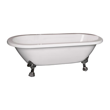 Barclay Caswell Double End Acrylic Tub - No Overflow