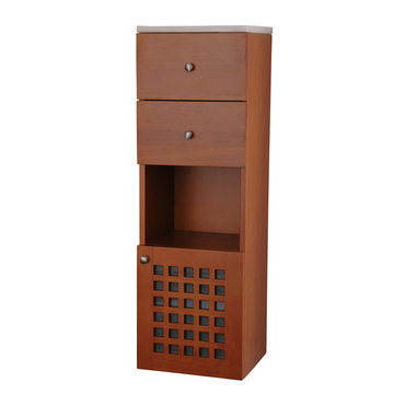 Barclay Ceylon Wall Hung Side Cabinet With Top