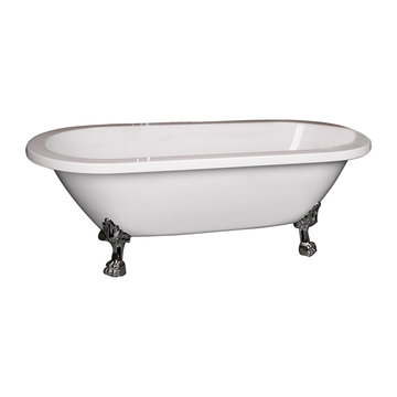Barclay Colin Double End Acrylic Tub - No Overflow