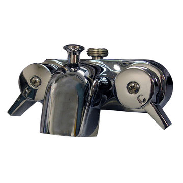 Barclay Diverter Bathcock Spout - 1/2 Inch Connection