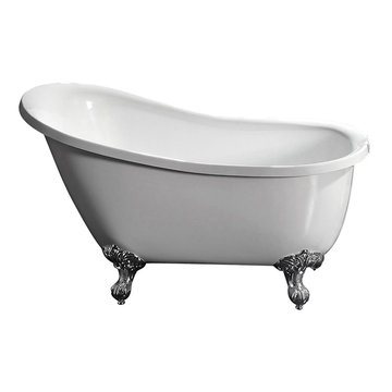 Barclay Dorchester Acrylic Slipper Tub