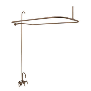 Barclay Gooseneck Shower Unit For Acrylic Tubs - No Shower Head