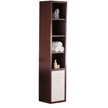 Barclay Marina Tall White Hanging Cabinet