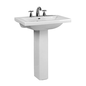 Barclay Mistral 20 Inch Pedestal Lavatory