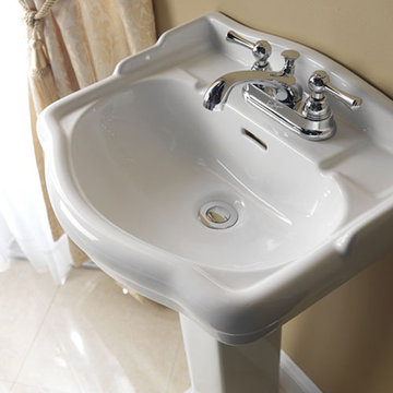 Barclay Stanford 18 1/8 Inch Pedestal Lavatory