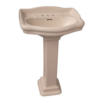 Barclay Stanford 21 3/4 Inch Pedestal Lavatory