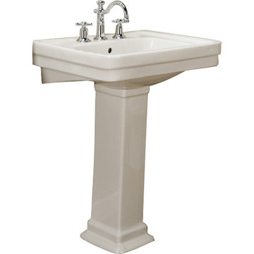 Barclay Sussex 21 5/8 Inch Pedestal Lavatory