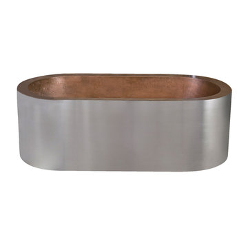Barclay Sycamore Stainless Steel Tub - No Faucet Holes