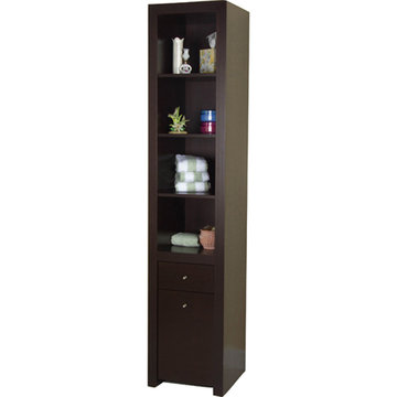 Barclay Tall Cabinet With Wheels