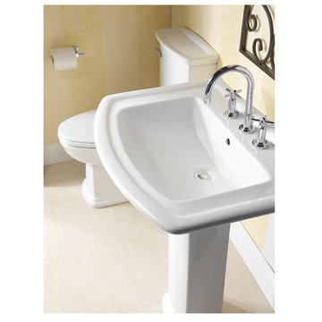 Barclay Washington 22 Inch Pedestal Lavatory