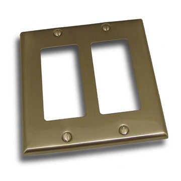 Residential Essentials Double Rocker Switchplate