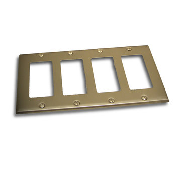 Residential Essentials Quadruple Rocker Switchplate Plate