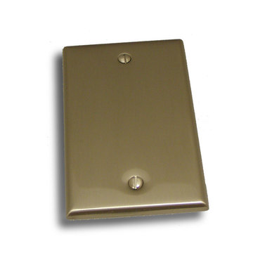 Residential Essentials Single Blank Switchplate