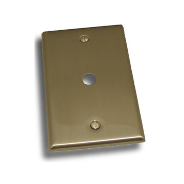 Residential Essentials Single Cable Switchplate