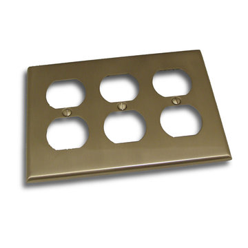 Residential Essentials Triple Duplex Switchplate