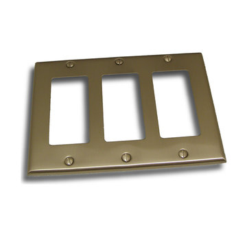 Residential Essentials Triple Rocker Switchplate