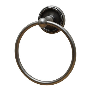 Residential Essentials Woodrich Towel Ring
