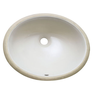 Avanity 18 Inch Oval Undermount Linen Vitreous China Sink