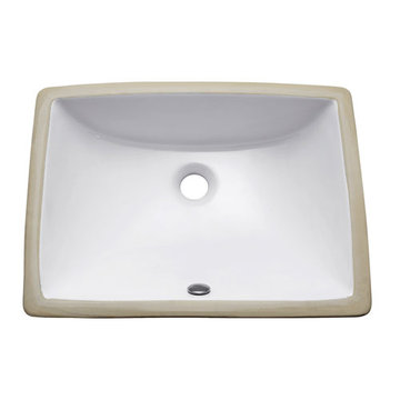 Avanity 20 Inch Rectangular Undermount Vitreous China Sink