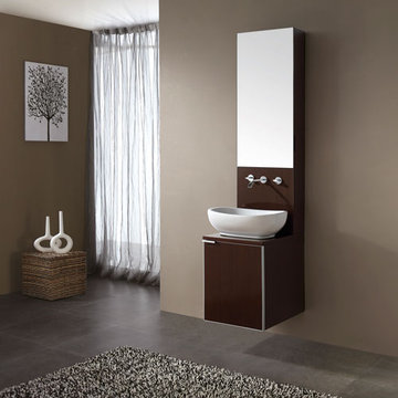 Avanity Cube 16 Inch Vanity With Vessel Sink