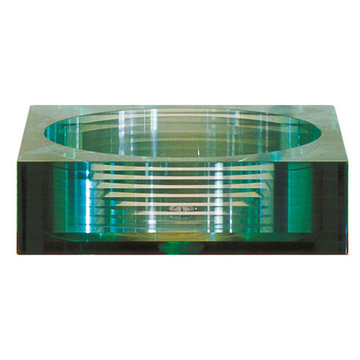 Avanity Square Segmented Glass Vessel Sink