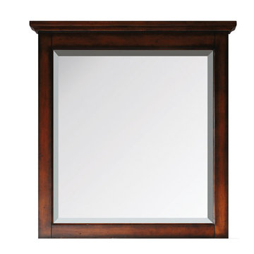 Avanity Tropica 30 Inch Antique Brown Mirror